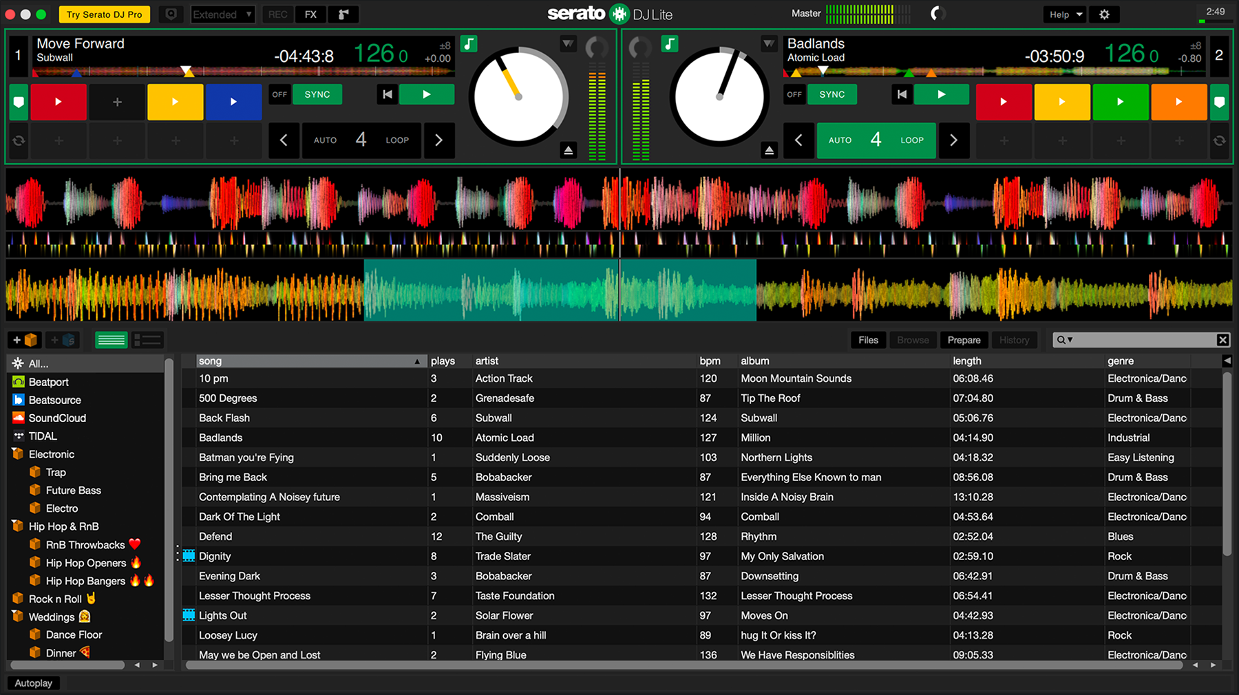 Serato dj software, free download for android