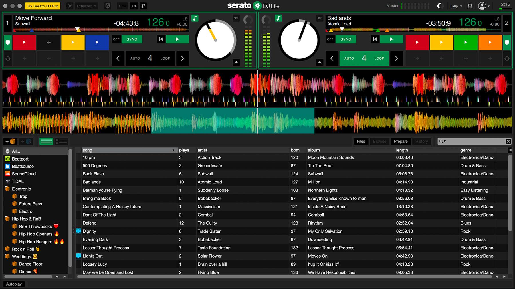 Serato DJ Lite 1.5.5