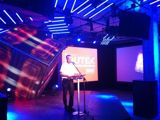 Alain Monageau opens MUTEK