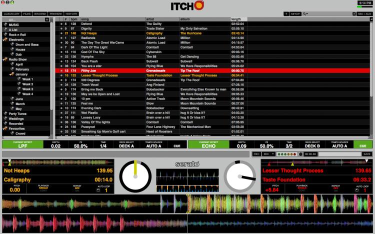 ITCH for Numark NS 6 screenshot
