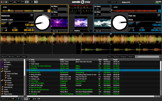 update itch 2 2 2 and serato video 1 1 blog rh serato com Serato Itch Tutorial Numark NS6 Serato Itch Software