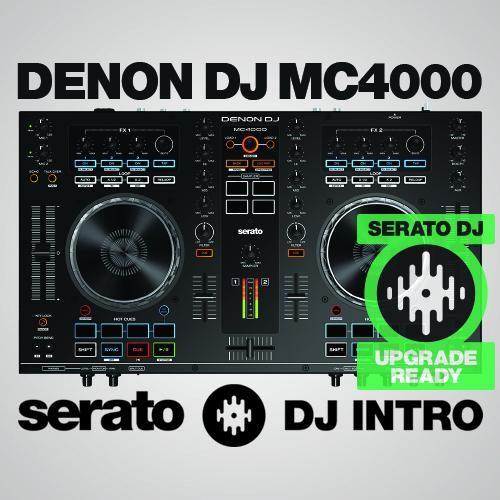 how to get 2 decks on serato dj intro