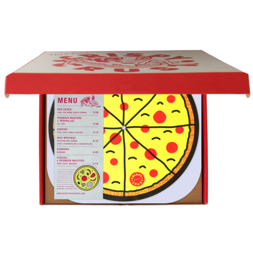 Mmmm Pizza Announcing New Crispy Crust Vinyl With