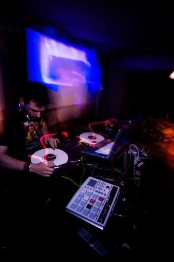 DJ AM at Serato X 10 year anniversary party, June 6 2008
