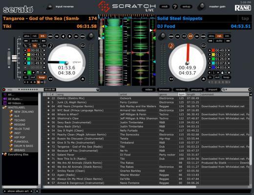 Scratch Live 1.8