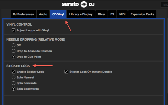 how to set cue points in serato dj intro