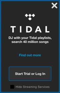 Start a free 30-day TIDAL trial