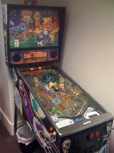 Our Cherished Pinball Machine