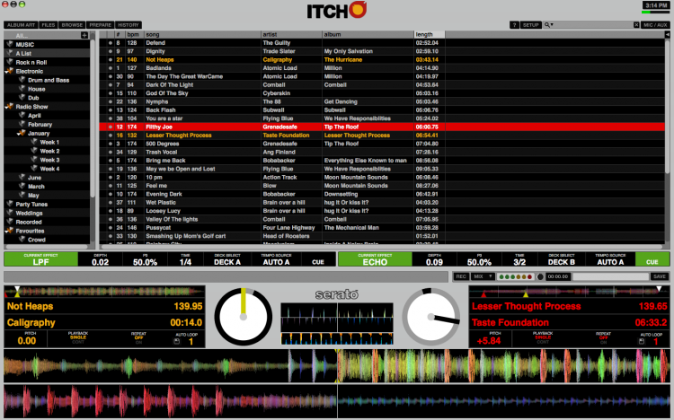 ITCH for Novation TWITCH screenshot