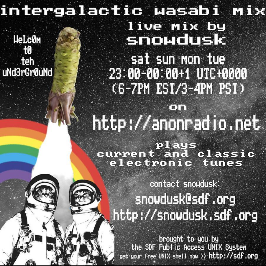 2018-03-12 / intergalactic wasabi mix