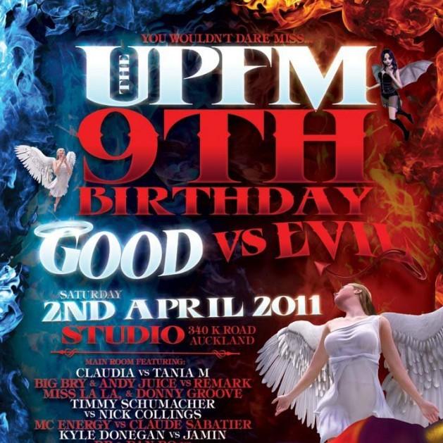 UPFM 9th Birthday - 2/04/11