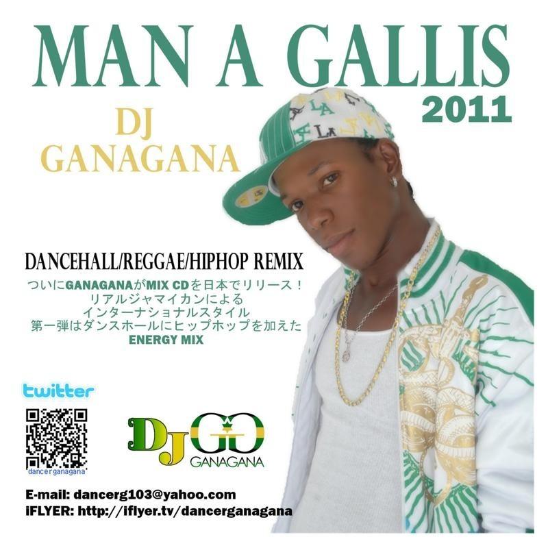 MY MIX CD (MAN A GALLIS 2011)