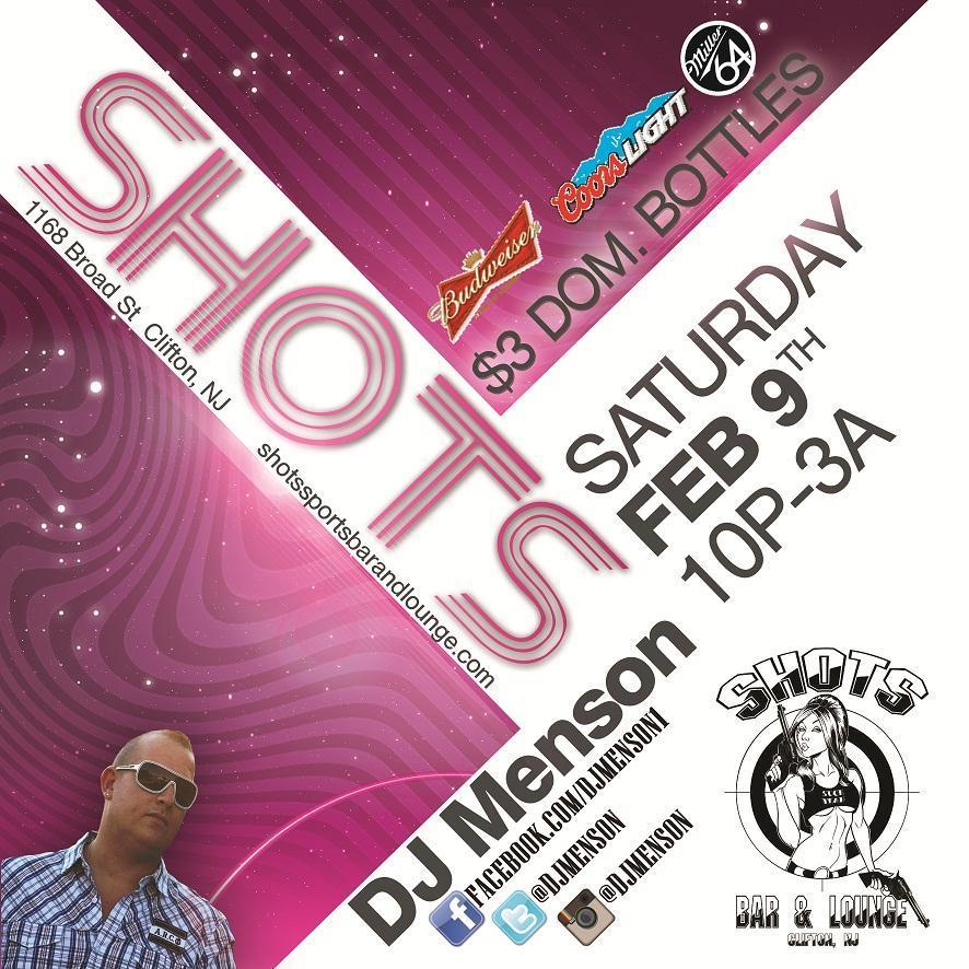 02/09/2013 @ Shots Sports Bar & Lounge