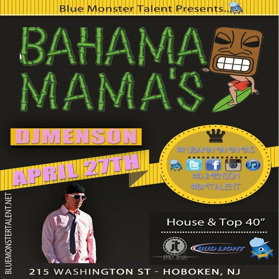 4/27/13 @ Bahama Mamas (Hoboken, NJ)