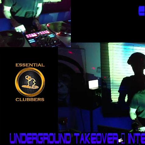 ECR 1 ep#14 Underground TAkeover Techno 20/7/21