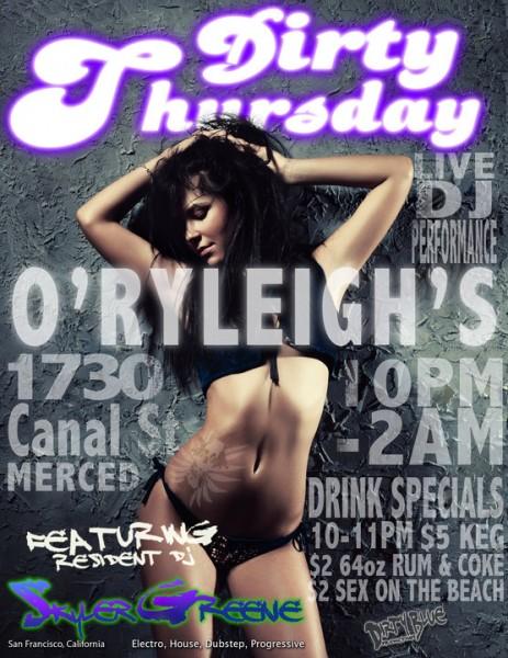 Dirty Thursday Live 10/7/10