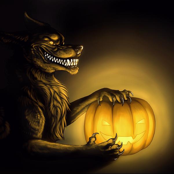 Wolf's Halloween
