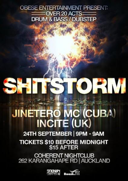 SHITSTORM - 25/09/10