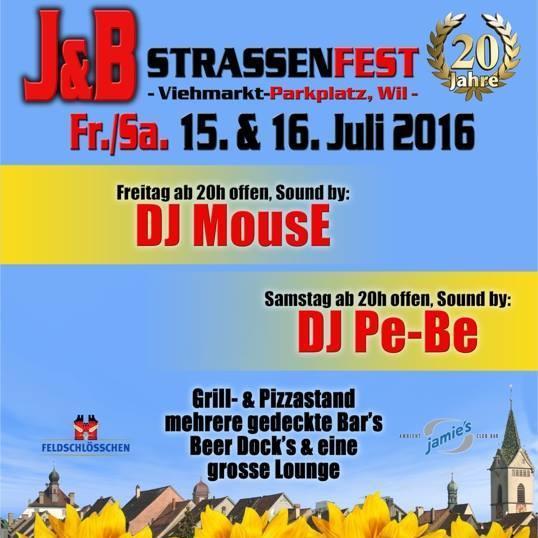 J&B Strassenfest - 15.07.2016