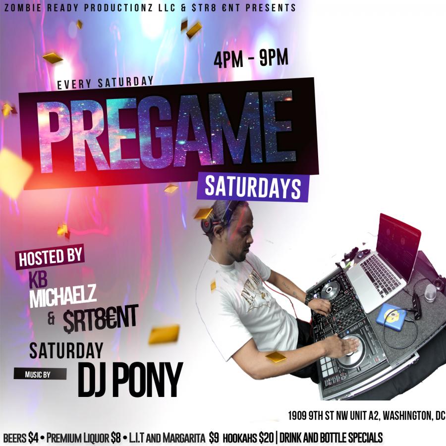 Pregame Saturdays Empire Lounge5/4/19