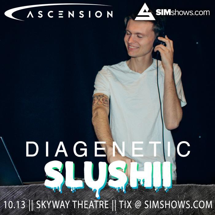 Diagenetic at Slushii (Psy-Trance Set)