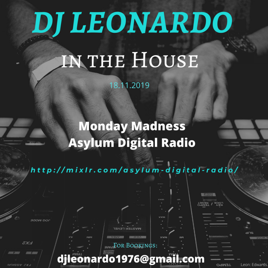 In the House - Monday Madness Show 18/11/2019