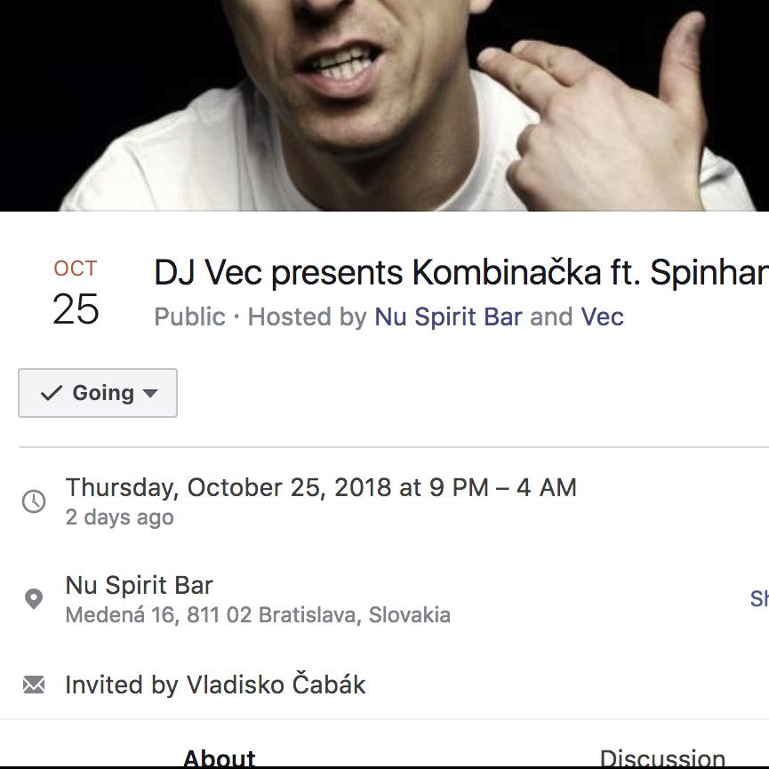 Kombinačka s DJ Spinhandz set č.2