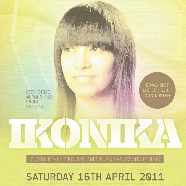 Sick Disco Feat. Ikonika (UK) 17/04/11