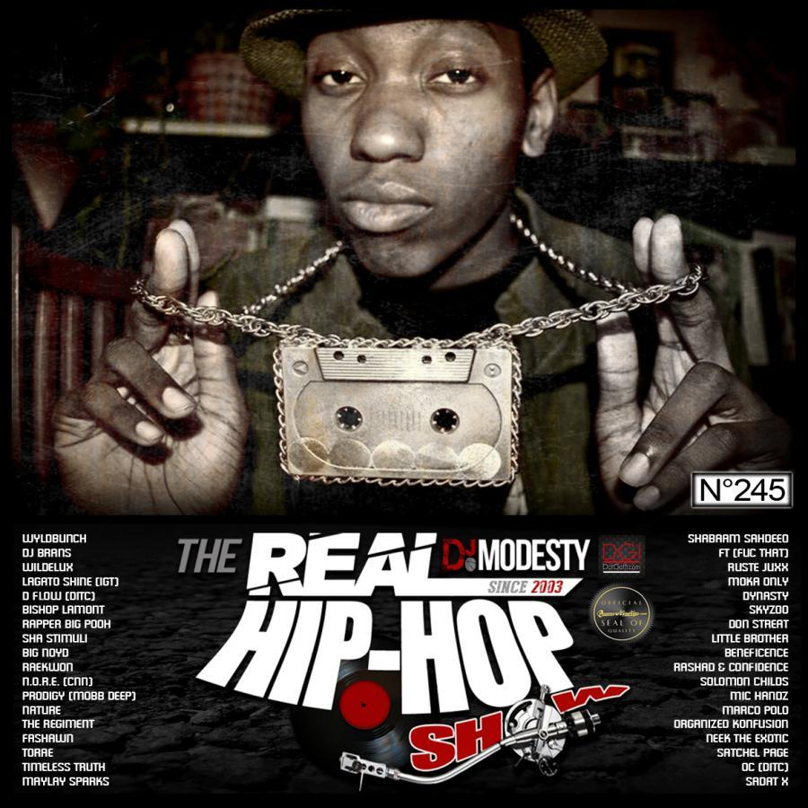 THE REAL HIP HOP SHOW N°245