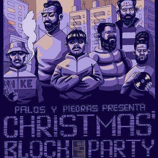 Christmas Block Party - Palos y Piedras