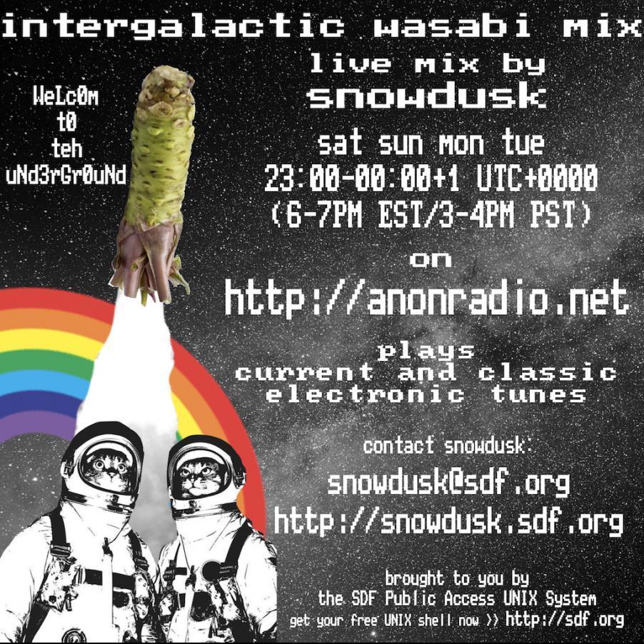 2018-04-01 / intergalactic wasabi mix