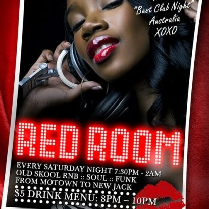 Red Room, 9th July 2011 8pm-10pm
