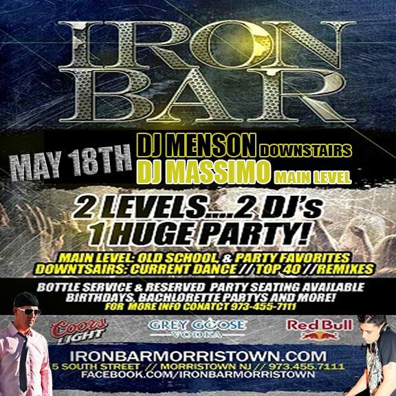 5/18/13 @ Iron Bar (Morristown, NJ)