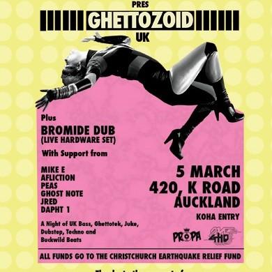 Ghettozoid (UK) 5/03/11