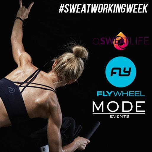 #SweatWorkingWeek: Flywheel Old Town6/9/17