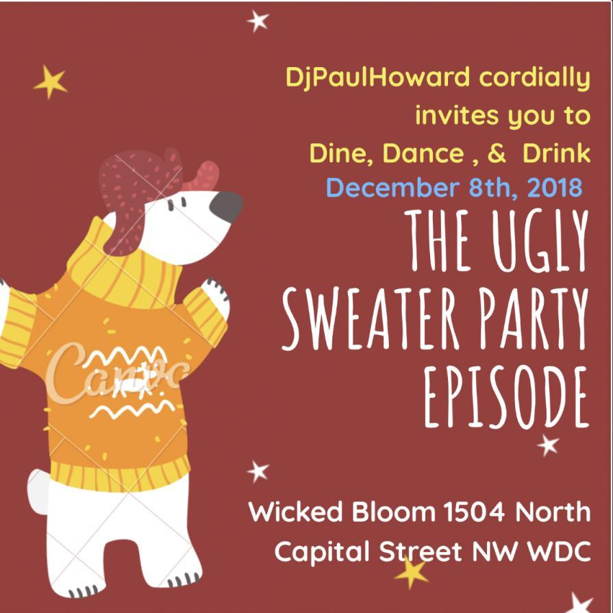DINEDANCEDRINK-UGLY SWEATER PARTY
