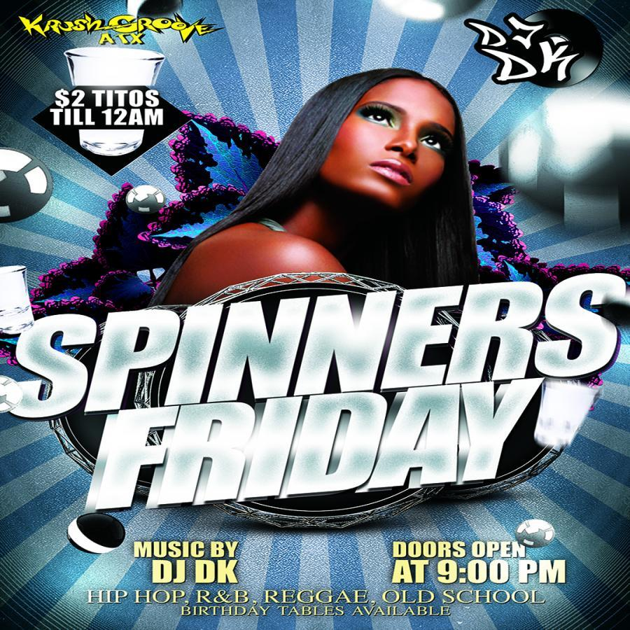 8/31/18 - Spinners Friday