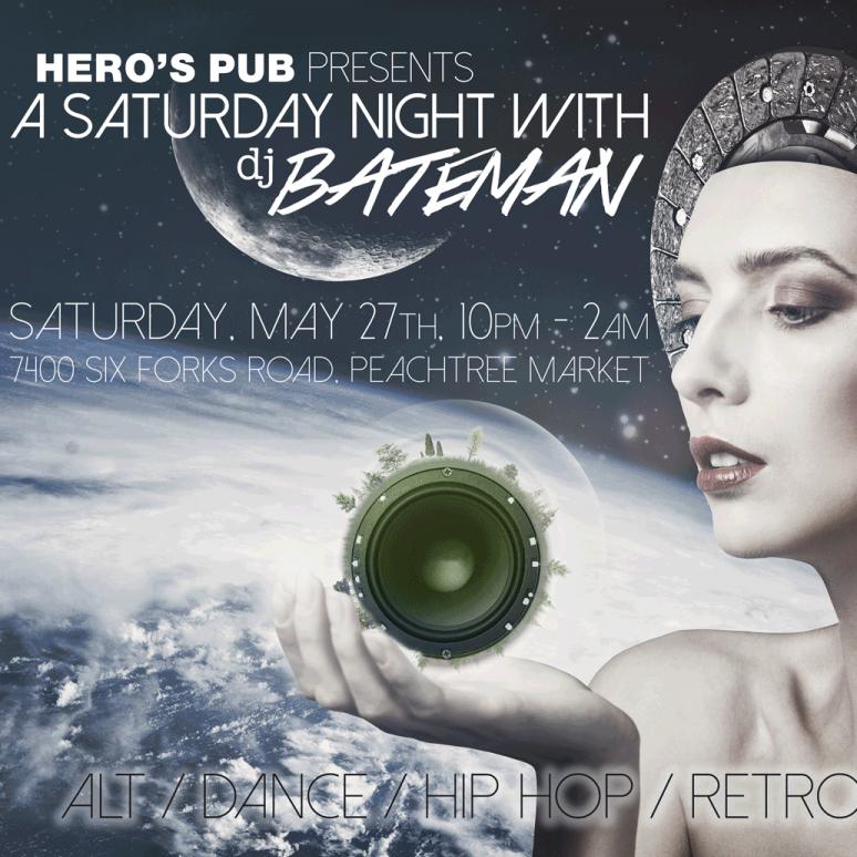 A Saturday Night with BATEMAN - May 27th, 2017