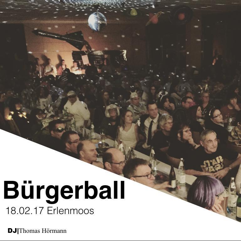18.02.17 Bürgerball Erlenmoos