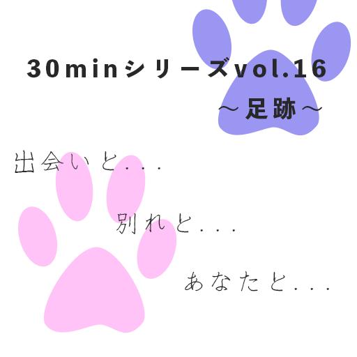 30minシリーズvol.16〜足跡〜