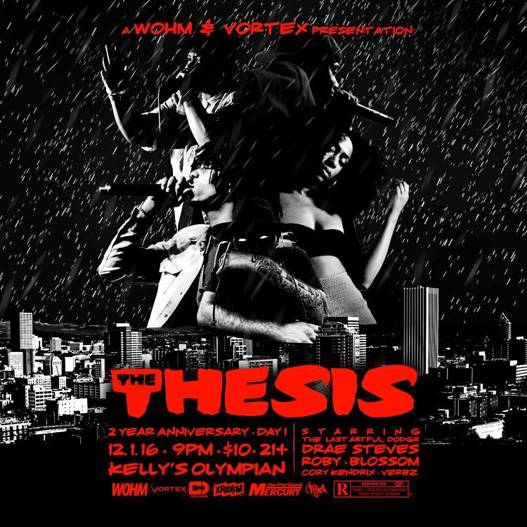 The Thesis // December 2016 - Day 1
