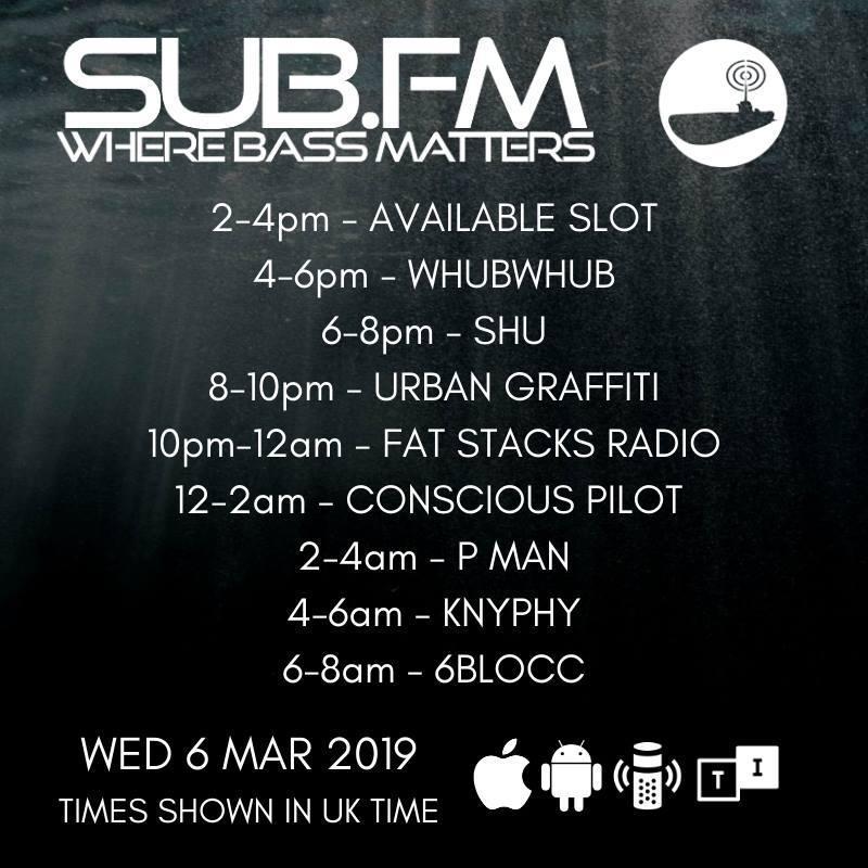 The P Man Show - SubFM - 7 March 2019