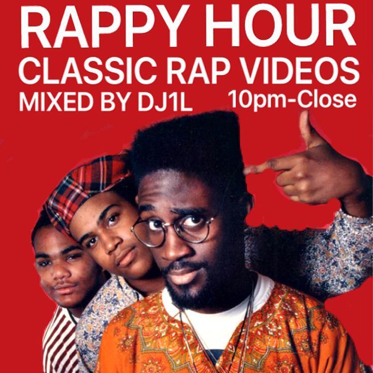 Rappy Hour @ The Vanguard: Old School Rap Video Mix