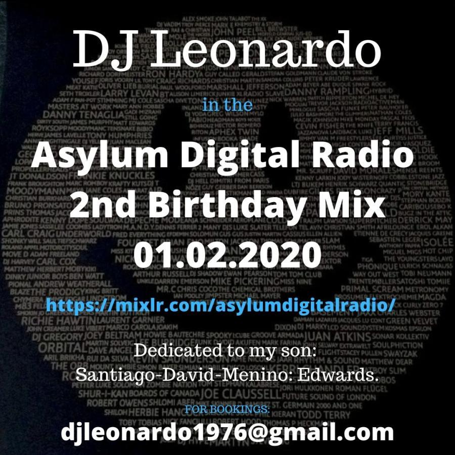 2nd Birthday Mix - Asylum Digital Radio - 01/02/2020