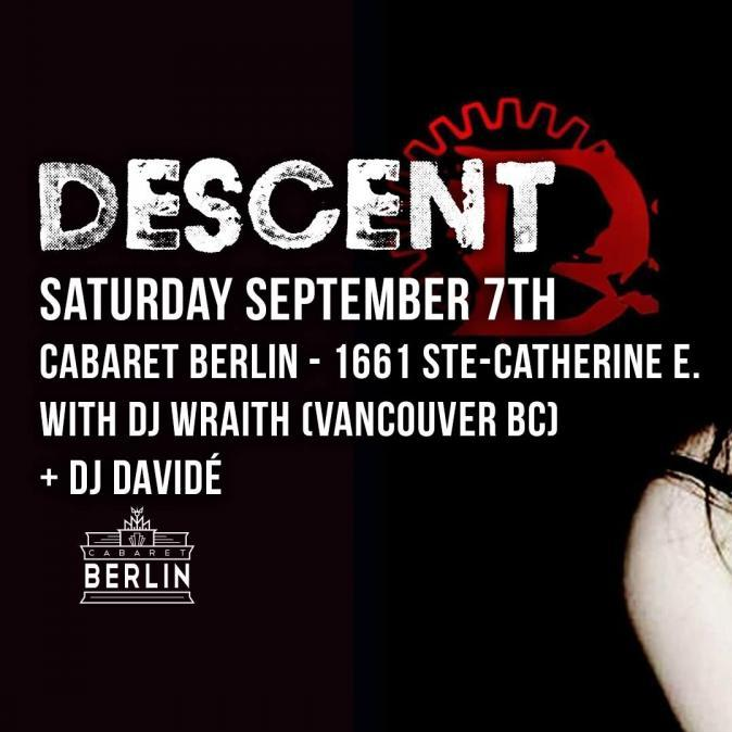 Descent Montreal Sept. 7 2019
