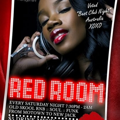 Red Room, 14th May 2011 8pm-10pm