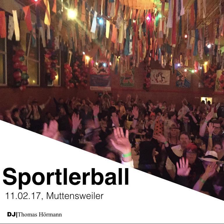 Sportlerball Muttensweiler