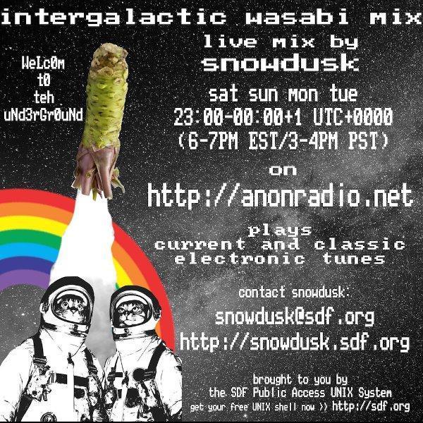 2018-01-29 / intergalactic wasabi mix