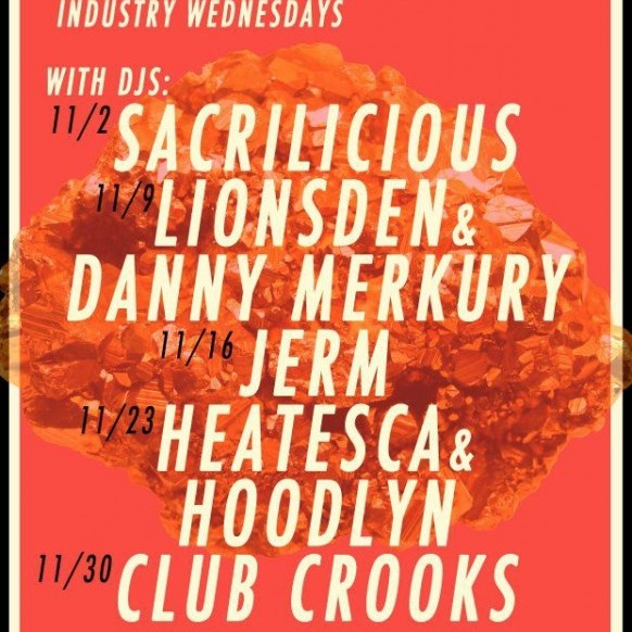 Red Light Industry Wednesday At The East11/16/11