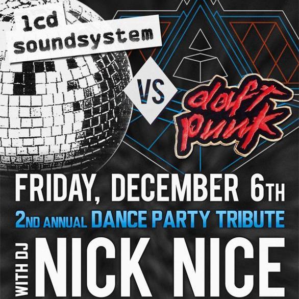 Daft Punk vs LCD Soundsystem 2013 Edition (Live @Majestic Theatre 12.6.13)
